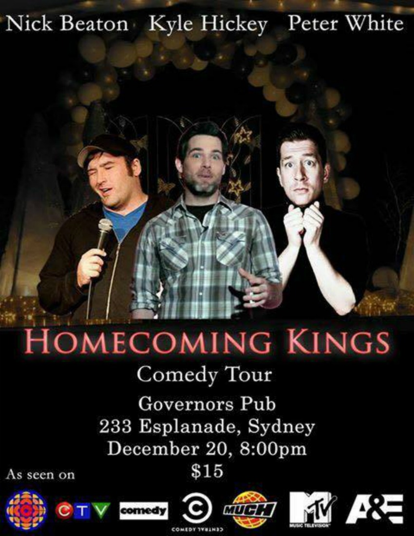 Governor S Pub Amp Eatery Homecoming Kings Comedy Tour