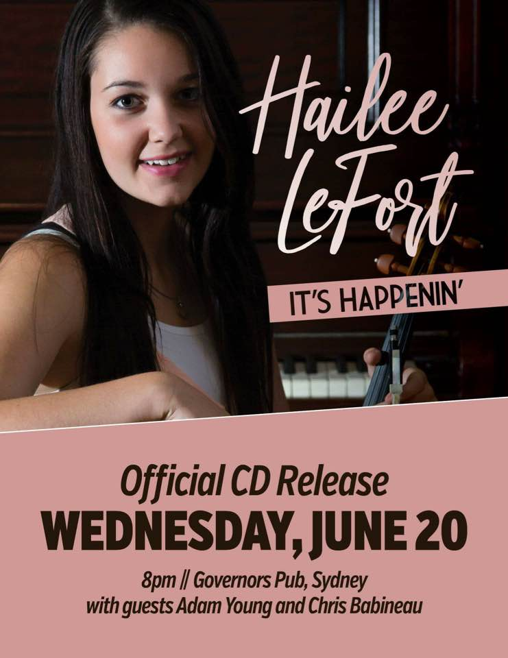 Governor's Pub & Eatery | Hailee LeFort CD Release- Wednesday June 20th